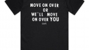 MOVE ONE OVER Tシャツ イメージ